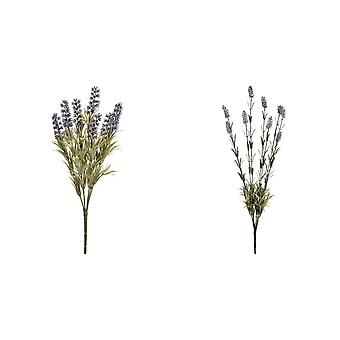Hill Interiors Artificial Lavender Flower Bouquet