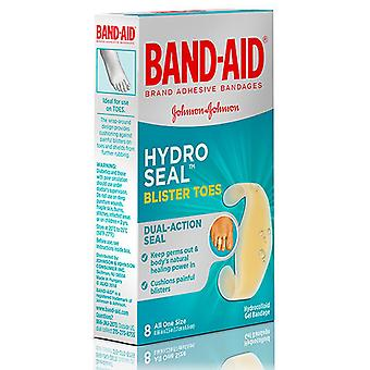 Band-aid hydro seal bandages blister toes, one size, 8 ea