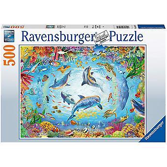 Ravensburger Cave Dive 500pc Jigsaw Puzzle