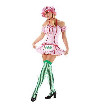Sexy Strawberry Doll Kostuum voor vrouwen