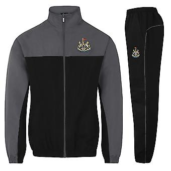 Newcastle United FC Officiel Football Gift Boys Veste et Pantalons Survêtement