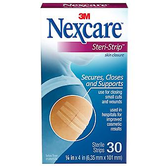 Nexcare steri-strip skin closure sterile strips, 30 ea