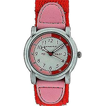 Cannibal Active Analogue Time Teacher Girls Easy Fasten Strap WatchCT203-06