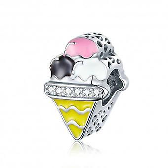 Sterling Silver Charm Ice Cream - 6090