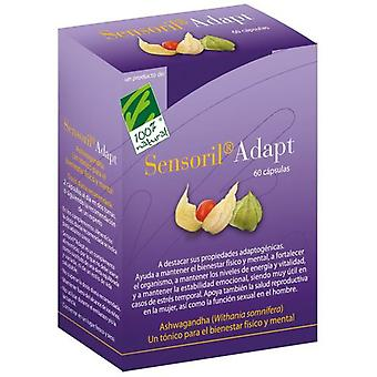100% Natural Sensoril Adapt 60 Capsules