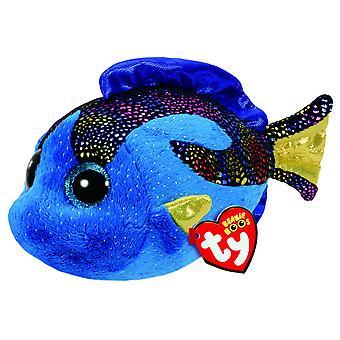 TY Beanie Boo Aqua The Blue Fish - 15cm
