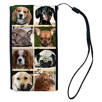 الكلاب حقيبة محفظة عالمية