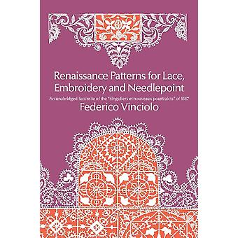 Renaissance Patterns for Lace and Embroidery by Federico Vinciolo - 9