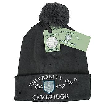 Licenseret Cambridge University™ POM POM Beanie skihat kulfarve
