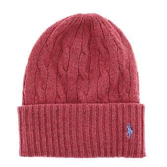 Ralph Lauren Ezcr012018 Women's Red Wool Hat