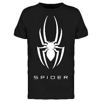 "White ""spider"" Design  Tee Men's -Image by Shutterstock"