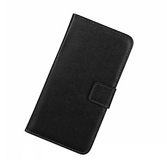 Wallet Case Huawei P40 Lite, Genuine Leather