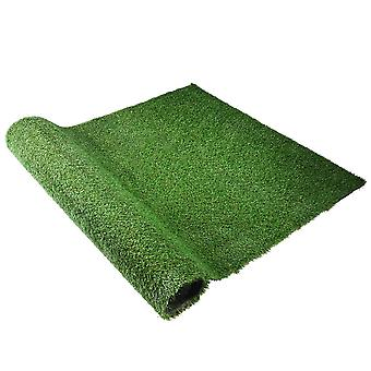 Yescom Indoor/Outdoor 4ft x 6.6ft Fake Grass Artificial Mat, Green