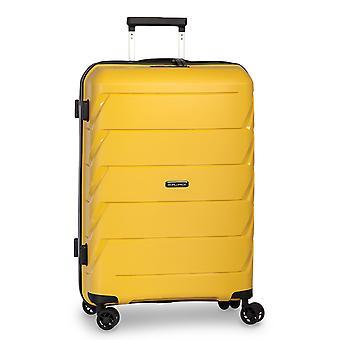 Fabrizio Worldpack Capri Vaunu L, 4 pyörää, 75 cm, 92 L, keltainen