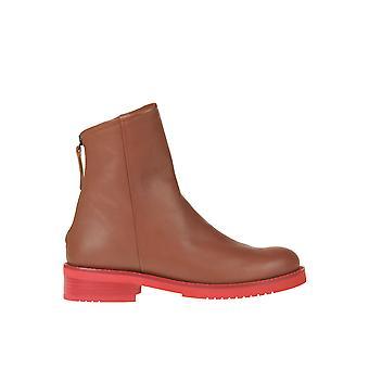 Malìparmi Ezgl194031 Femmes-apos;s Brown Leather Ankle Boots