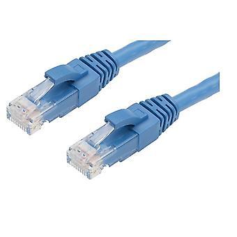 Kissa 6 Ethernet-verkkokaapeli sininen