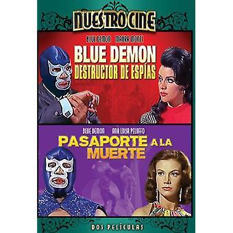 Azul demônio destruidor De Espias/pt Pasaporte um La [DVD] EUA importar