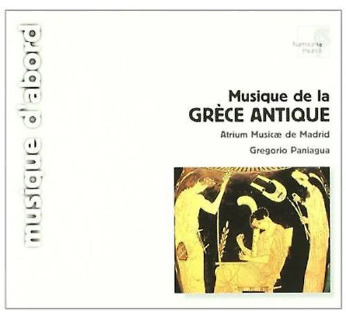 HARMONIA MUNDI (FRA) Gregorio Paniagua - Grekland: Musique De La Grece antika [CD] USA import