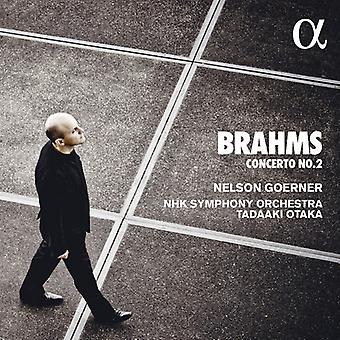 Brahms / Goerner - Piano Concertos 2 [CD] USA import