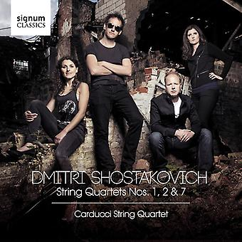 String Quartets 1, 2 & 7 [CD] USA import