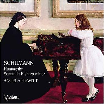 R. Schumann - Schumann: Humoresque; Sonata in F Sharp Minor [CD] USA import