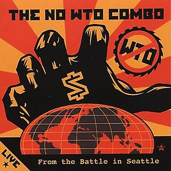 No Wto Combo - Live From the Battle in Seattle [Vinyl] USA import