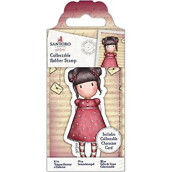 Gorjuss Collectable Mini Rubber Stamp No. 54 Sweetheart