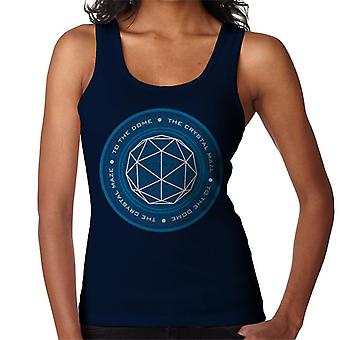 The Crystal Maze Logo Women's Vest