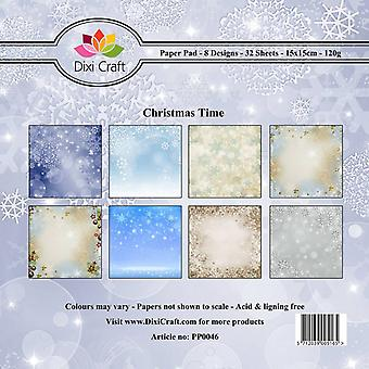 Dixi Craft 6x6 tuuman paperipakkaus Jouluaika