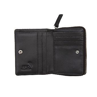 Premierhide Femme Portefeuille en cuir RFID Blocage petit porte-monnaie 5551