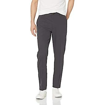 Goodthreads Hombres's Athletic-Fit Wrinkle Free Dress Chino Pant, Gris, 31W x 34L