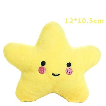 12cm Chew Squeaker Squeaky Plush Sound Fruits  Vegetables Feeding Toys