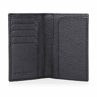 Slate Grey Richmond Leather Passport Wallet