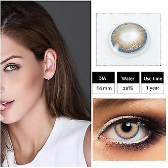 Cosmetic Contact Lens For Eyes Yearly Use Cosmetic Contacts For Eyes Beautiful Pupil