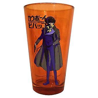 Pint Glass - Cowboy Bebop - Orange Spike Pint New gls-bop-bspk