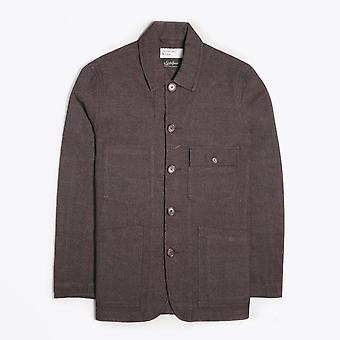 Universal Works - Patched Mill Bakers Jacket - Bruin