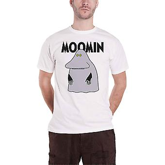 Moomins T Shirt Groke Logo nouveau officiel Mens White