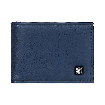 Element Bifold Wallet with CC, Note and Coin Pockets ~ Segur indigo