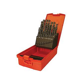 Dormer A190 No.202 Métrique HSS Ensemble de forage de 51 1.0-6.0 x 0.1mm DORSET202