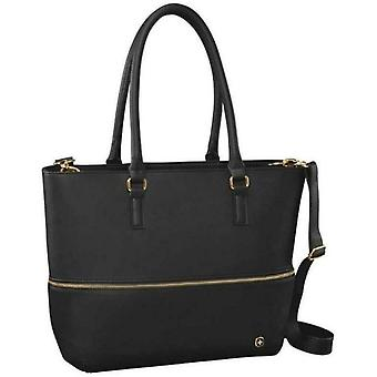 """Wenger Eva 13"""" Expandable Tote Bag with Removable 13"""" Laptop Sleeve, Black"""