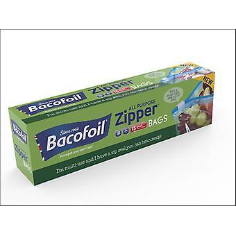 Baco All Purpose Zipper Bags Small x 15 86B10