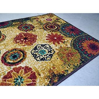 Chakra 2 Style, Anti-slip Small Carpet - Polyester Area Rug