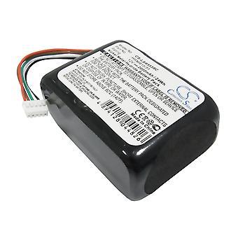 بطارية لLogitech 533-000050 HRMR15/51 Squeezebox راديو XR0001 X-R0001 البعيد