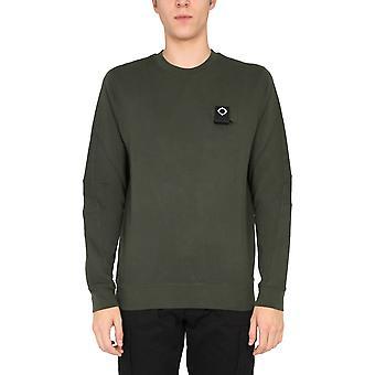 Ma.strum Mas4365m306 Men's Green Cotton Sweatshirt