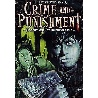 Misdaad & straf (1923) [DVD] USA importeren