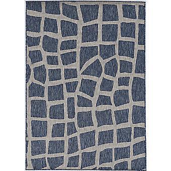"""PROVO 5763 2'7""""X 3'11"""" - Alfombra azul/gris"""