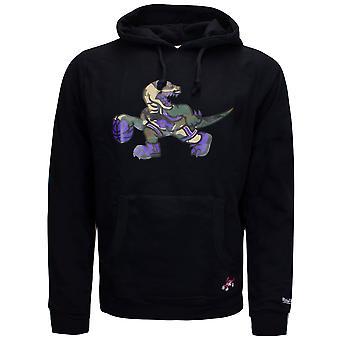 Mitchell & Ness Woodland Camo Hoodie Graphic Logo Sweatshirt Black CAMOHOOD