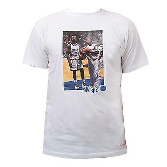 Mitchell & Ness Orlando Magic O'neal Anfernee T-Shirt Graphic Photo BAZB0C OMA