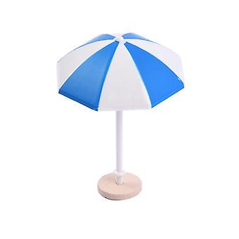 S/M/L Ombrellone in miniatura Mini ombrellone Paesaggio Bonsai Dollhouse Garden fai-da-da-mente Accessorio per la casa decorazione per la casa