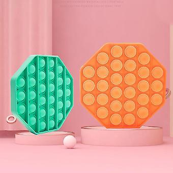 Hot Pop It Push Bubble Sensory Fidget Tabletop Anti-stress Soft Squeeze